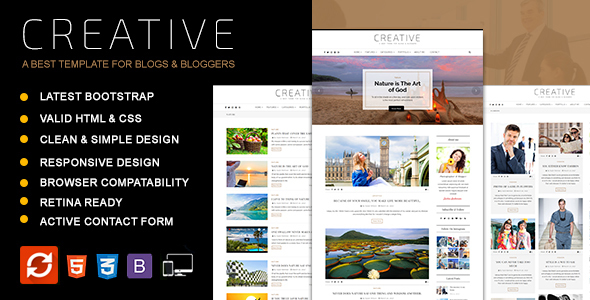 Creative - Blog HTML Template