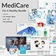 Medicare - 3 in 1 Bundle Powerpoint Template - GraphicRiver Item for Sale