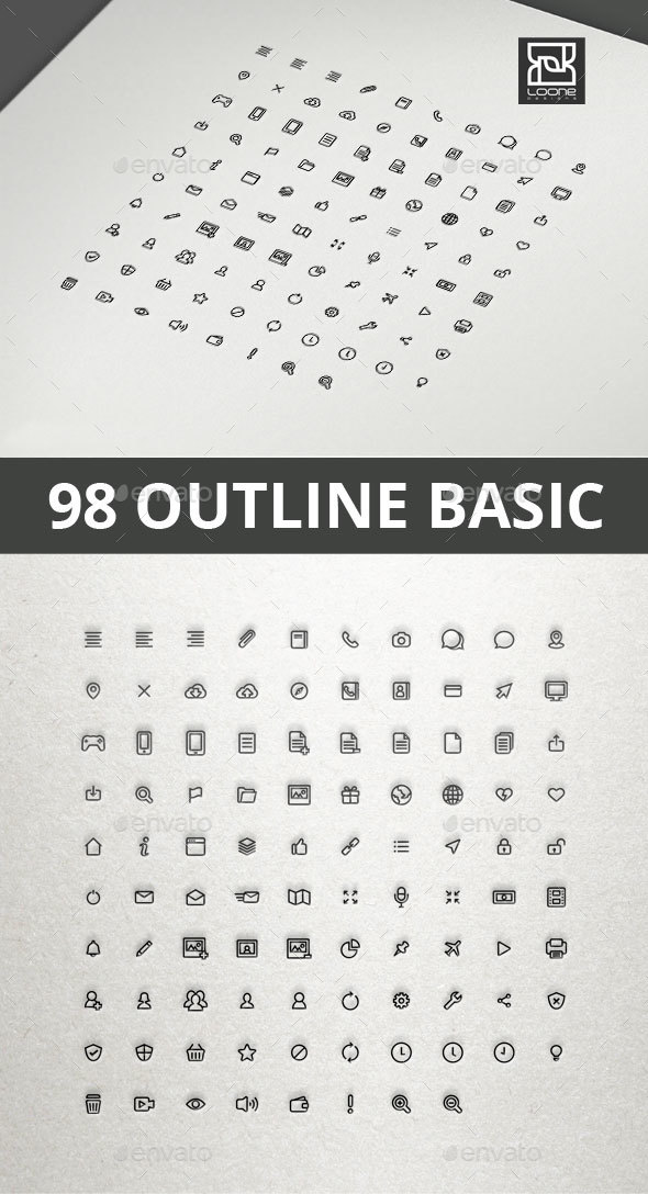 Outline Basic Interface Icon - Web Icons