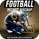 Football Helmet Mockup - GraphicRiver Item for Sale