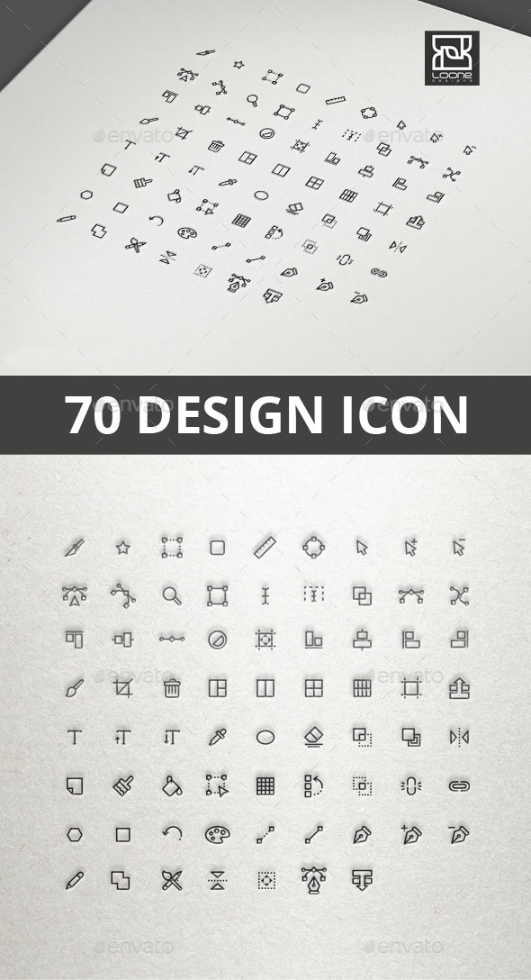 Design Icon - Media Icons