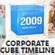 Corporate Cube Timeline - VideoHive Item for Sale