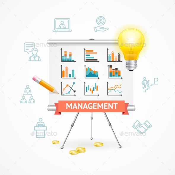 Business Management Concept. Vector - Concepts Business
