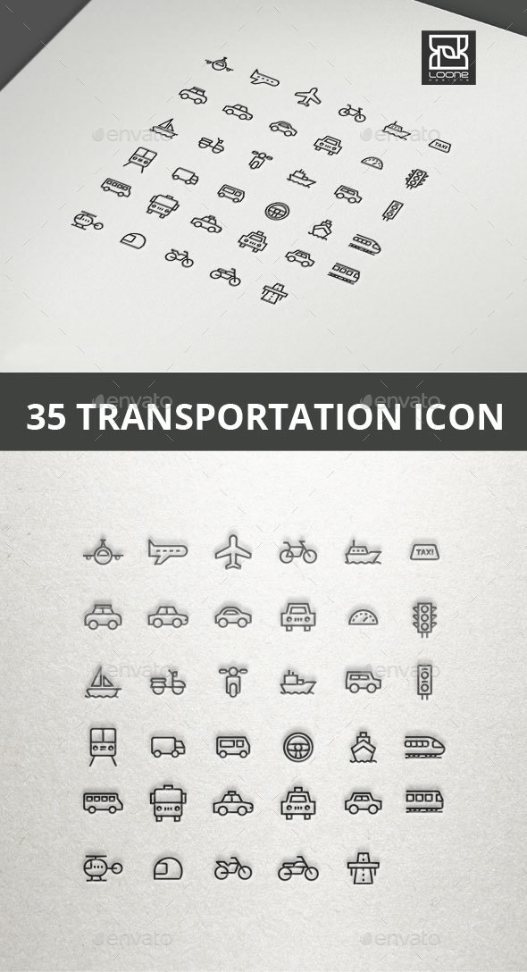 GraphicRiver Transport Icon 20549627