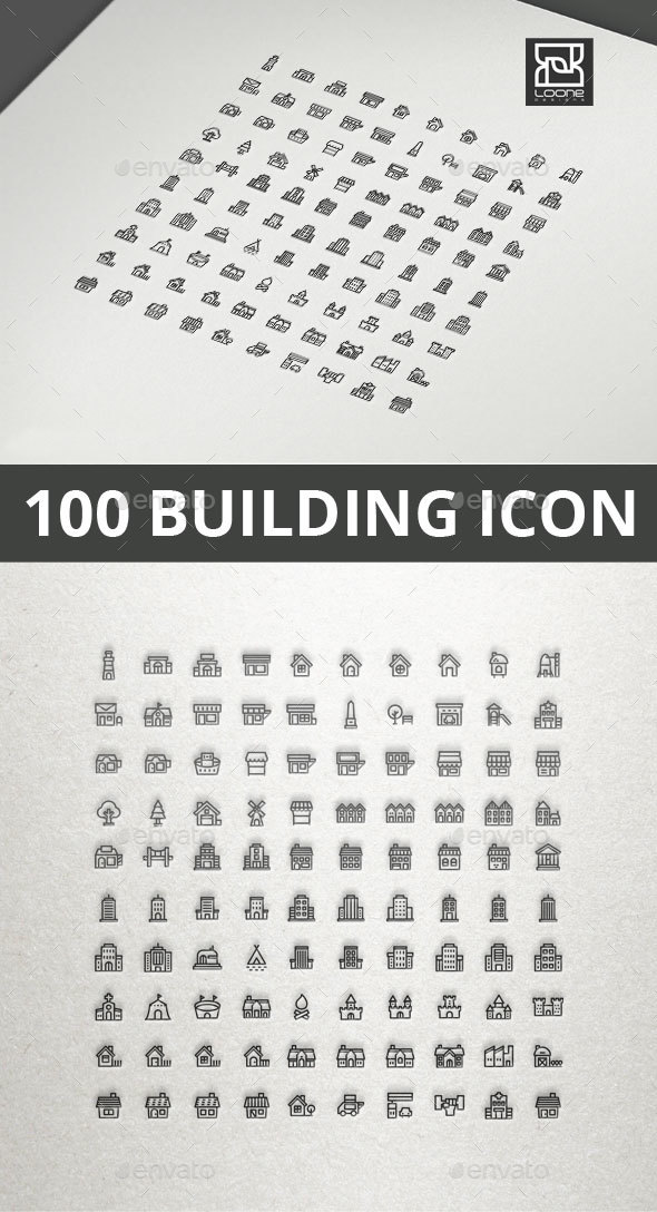 GraphicRiver Building Icon 20549652