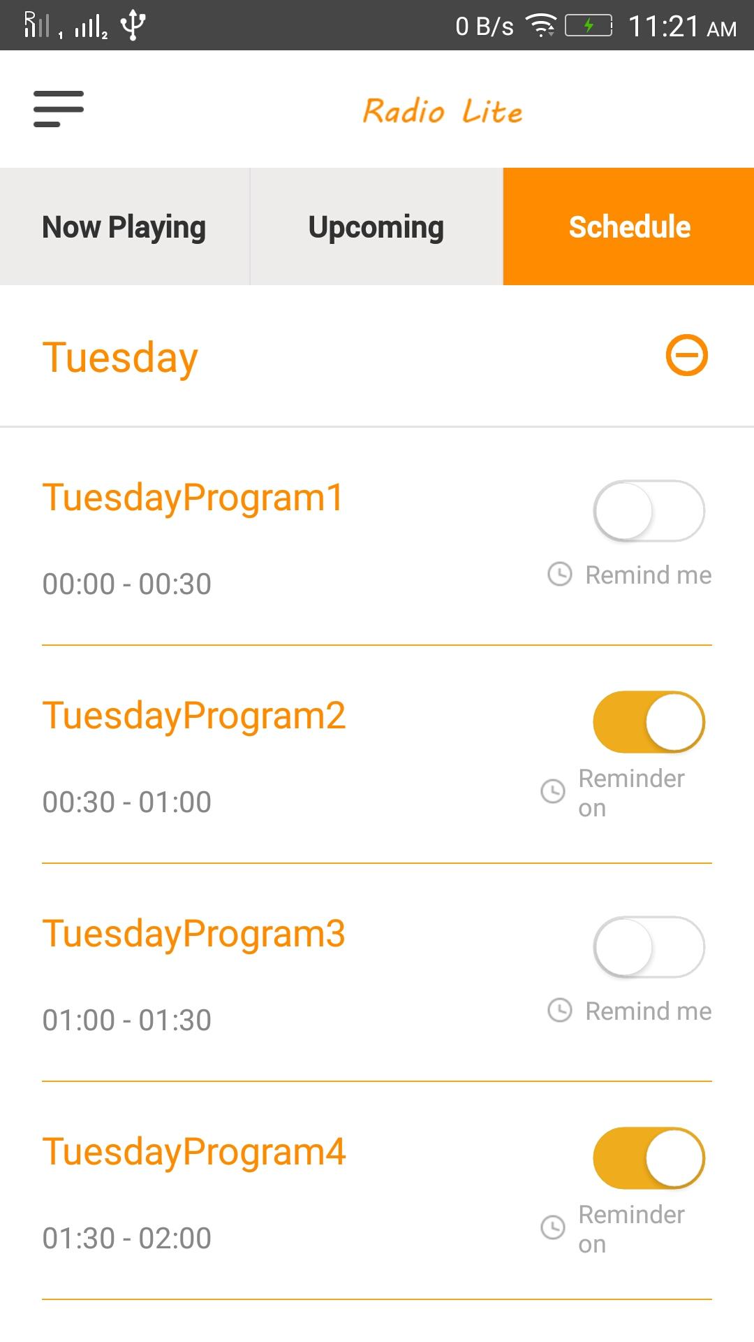 radio lite single radio streaming app by webandcrafts codecanyon