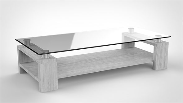 3DOcean Modern Coffee Table 20550142