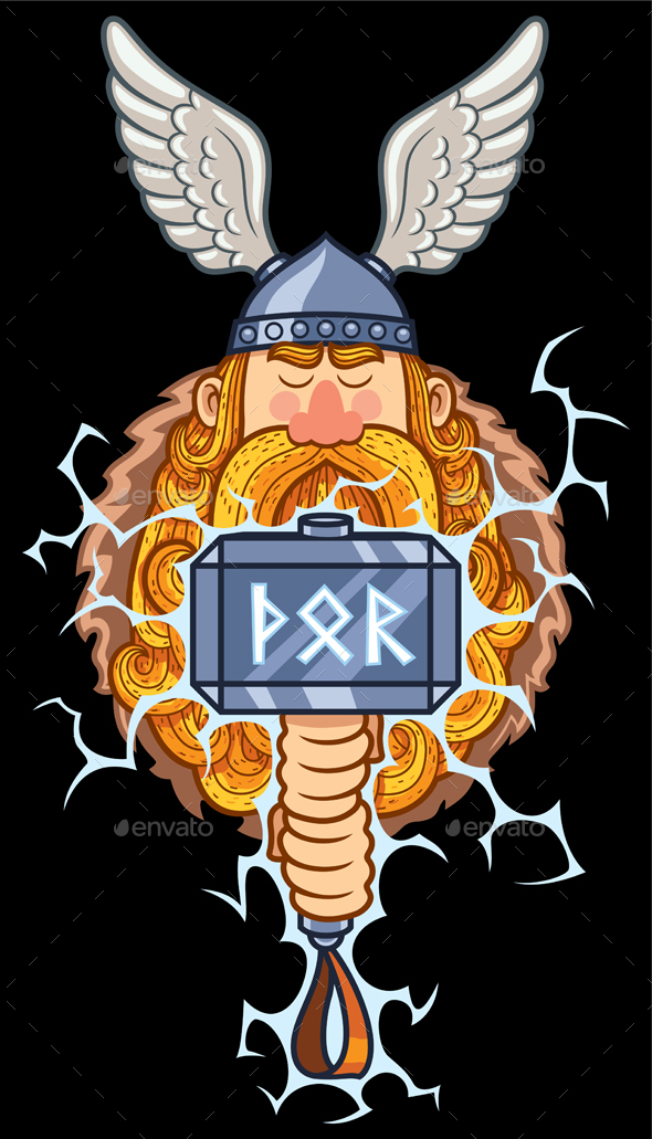 GraphicRiver Thor Portrait 20550309