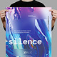 Silence Poster / Flyer - GraphicRiver Item for Sale