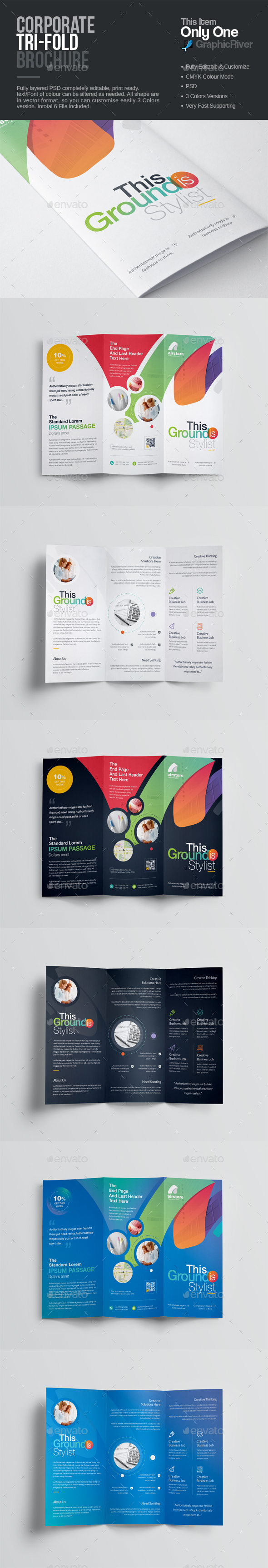 GraphicRiver Tri-Fold Brochure 20550736