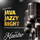 Java Jazzy Night Music Flyer / Poster