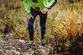 Athlete runner skyrunners