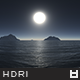High Resolution Night Sky HDRi Map 005