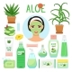 Aloe Vera Cosmetic Products - GraphicRiver Item for Sale