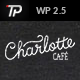 Charlotte Premium Café Bistro WP Theme - ThemeForest Item for Sale