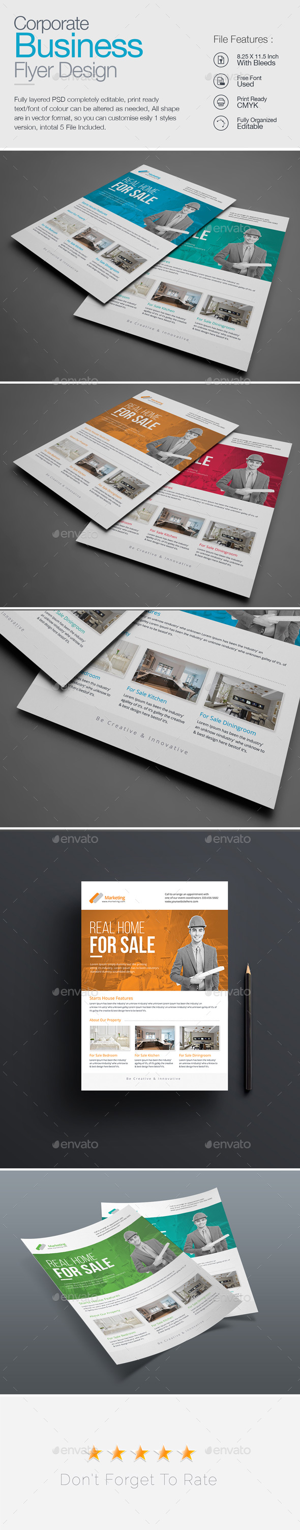 GraphicRiver Real Estate Flyer 20551280
