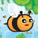 Flying Bee Game Assets Tileset - GraphicRiver Item for Sale