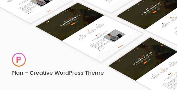 Plan - Creative One & Multipurpose WordPress Theme