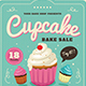 Cupcake Bake Sale Flyer - GraphicRiver Item for Sale