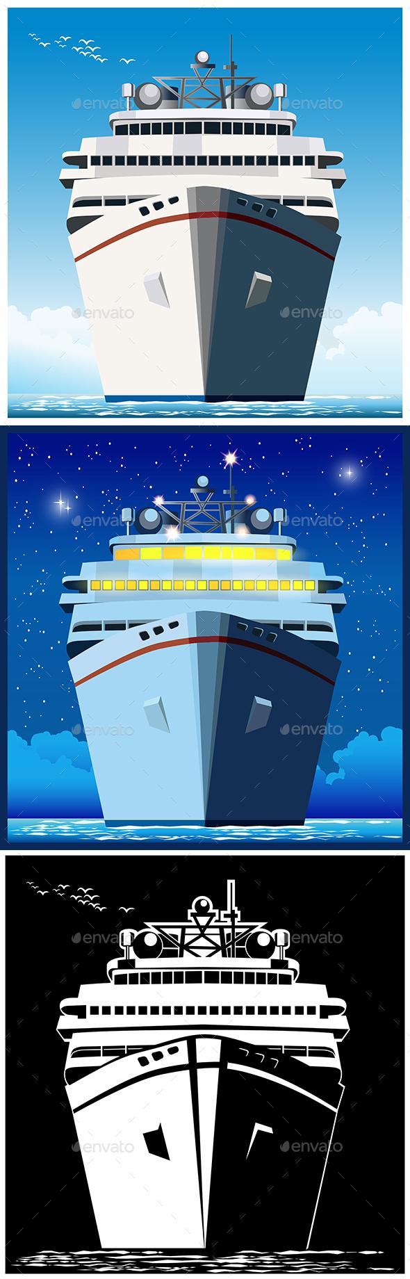 GraphicRiver Ocean liner 20551788