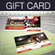 Soccer Gift Card - GraphicRiver Item for Sale
