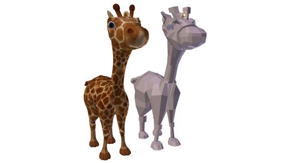 giraffe - 3DOcean Item for Sale