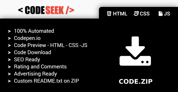 Codeseek - Codepen Engine - CodeCanyon Item for Sale