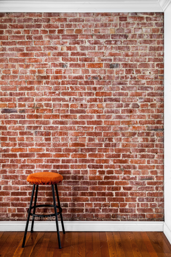 Flat Brick Wall Perspective Stock Photo Images