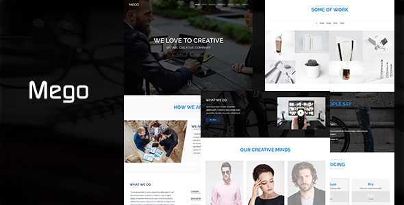 MEGO - Parallax One Page - Creative Site Templates