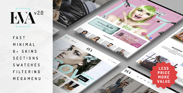 Eva - Responsive Shopify Theme (Sections Ready)