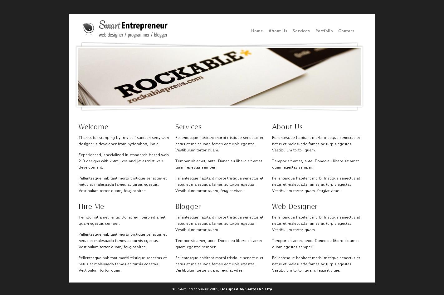 Free Download Smart Entrepreneur Drupal 6 Template Nulled Latest Version