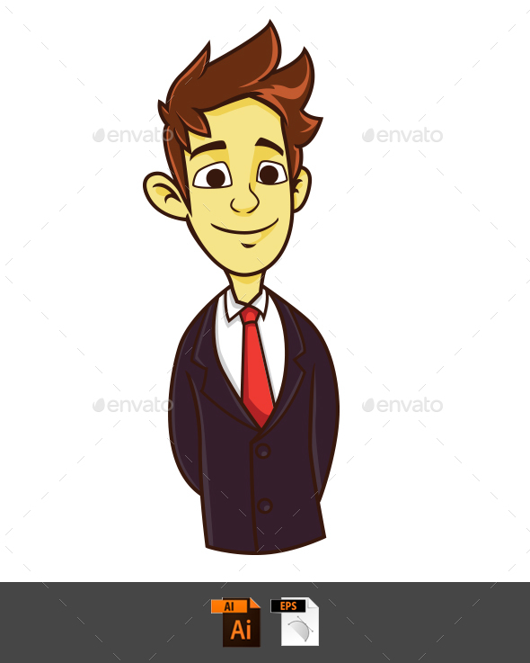 GraphicRiver Office Guy 20553210