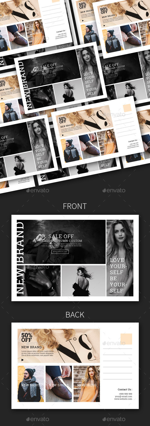 GraphicRiver Fashion Sale Promotion Postcard 20553330