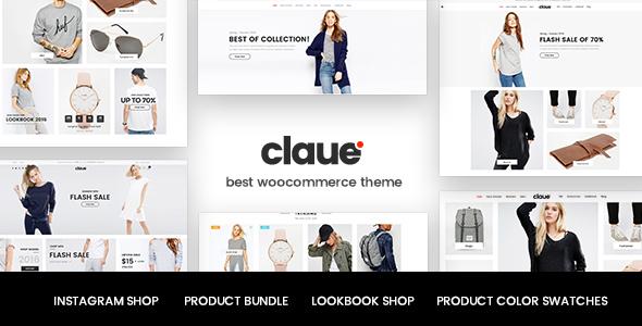 Claue - Clean, Minimal WooCommerce Theme - WooCommerce eCommerce