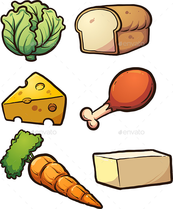 Food Items - Food Objects