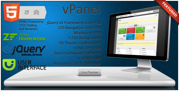 Free Download vPanel - Application Framework Nulled Latest Version