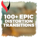 Epic Distortion Transitions - VideoHive Item for Sale