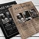 Jazz Music Festival Flyer