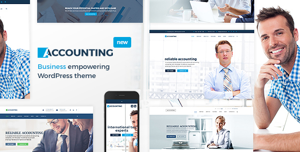 22+ Best Financial Company WordPress Themes [sigma_current_year] 6