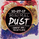 Minimal Dust Flyer - GraphicRiver Item for Sale