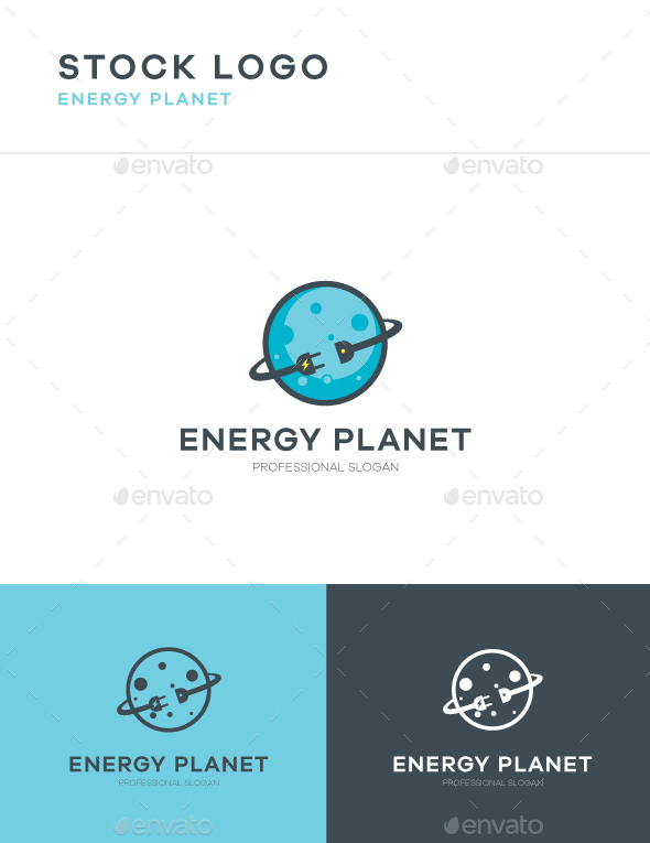 GraphicRiver Energy Planet Logo 20543107