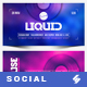Electronic Music Party vol.31 - Facebook Post Banner Templates - GraphicRiver Item for Sale