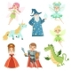 Fairytale Characters Set in Different Costumes