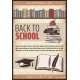 Vintage Colored Back To School Poster