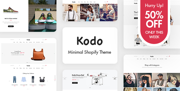 Kodo - Minimal Layout Builder Shopify Theme