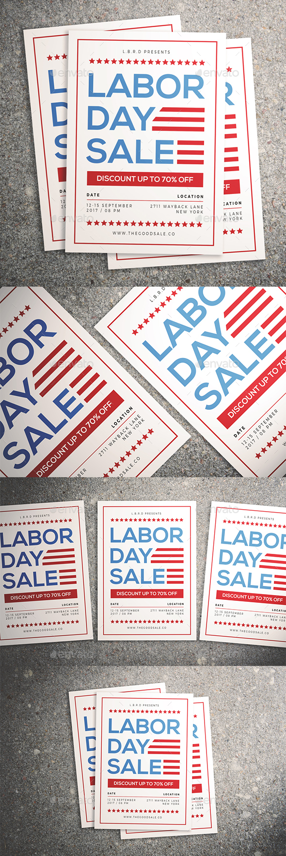 GraphicRiver Labor Day Sale Flyer 20554458