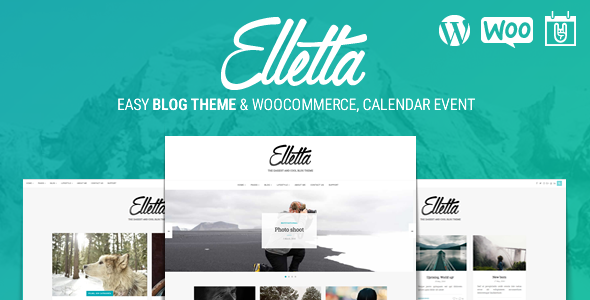 Elletta - Blog News, Calendar & Shop Theme WordPress | Prosyscom Tech 1