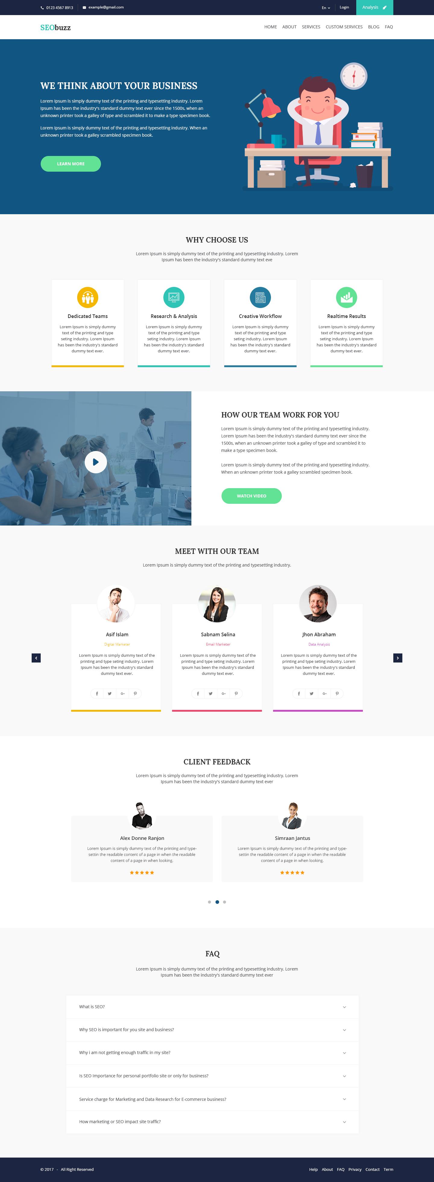 Seobuzz Seo Analysis And Marketing Service Provider Agency