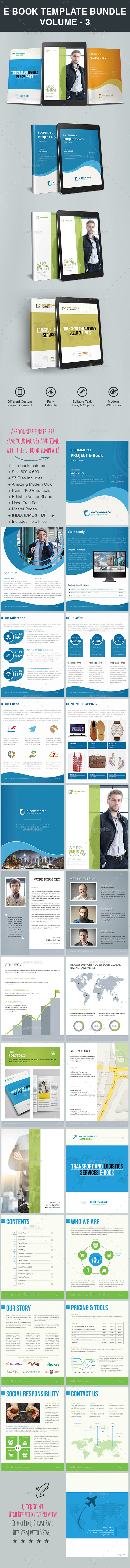 GraphicRiver E Book Template Bundle Volume 3 20554644