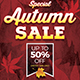 Autumn / Fall Sale Flyers